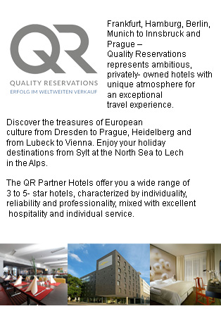 QR-Partner hotels offer a wide range of 3 to 5 star hotels, characterized for being reliable and acting professionally, always having